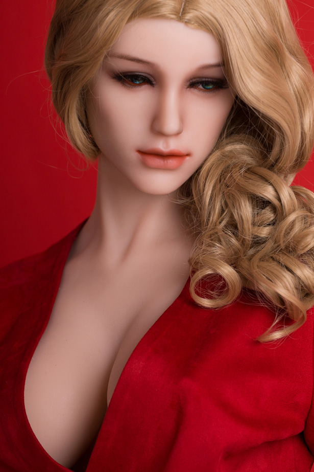 Glatter Haut Silikon Liebespuppe Eva