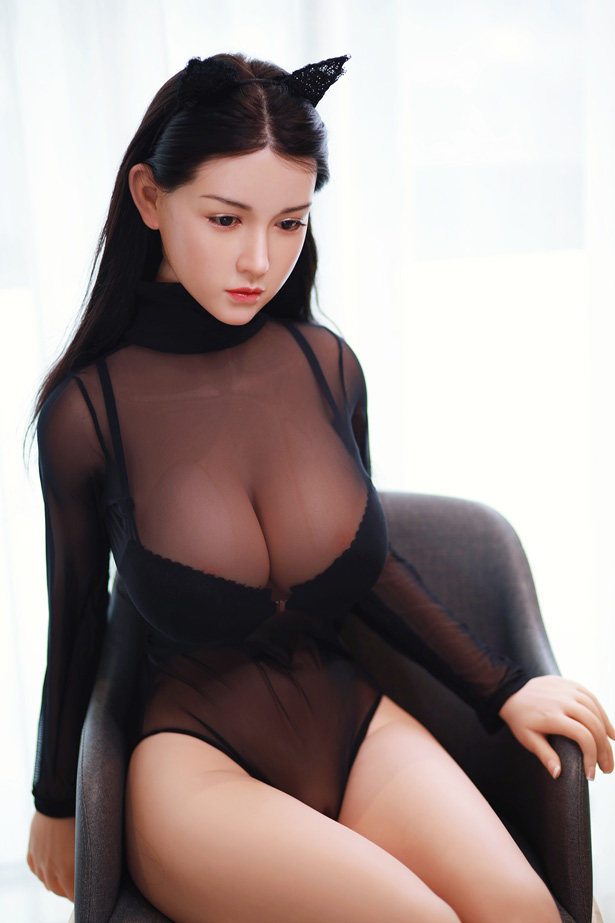 Paar super vollbusige Brüste Sexdoll Dietlinde