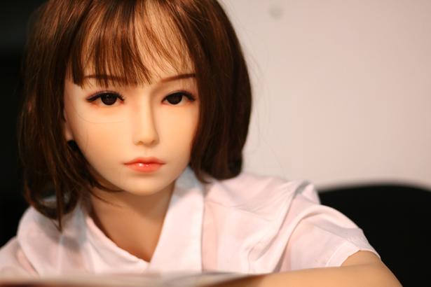 Befriedigende japanische Liebespuppe Lindsey