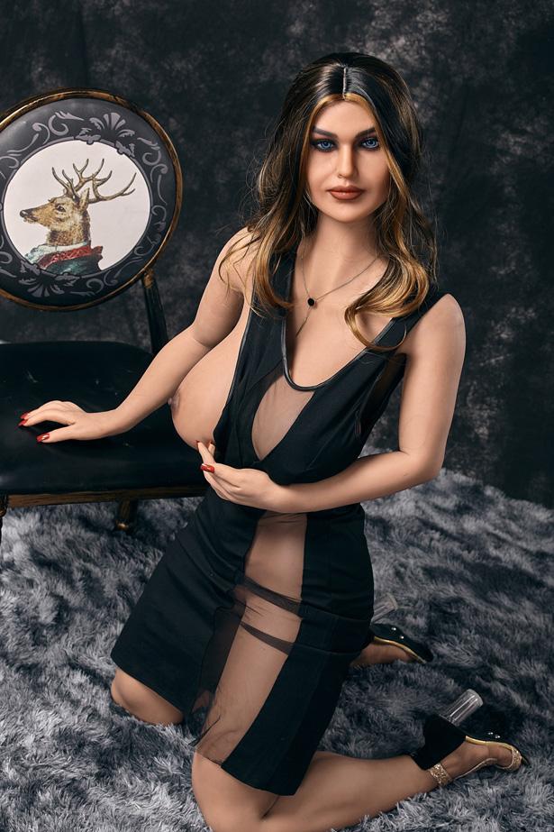 Reife BBW Real Doll Janserey