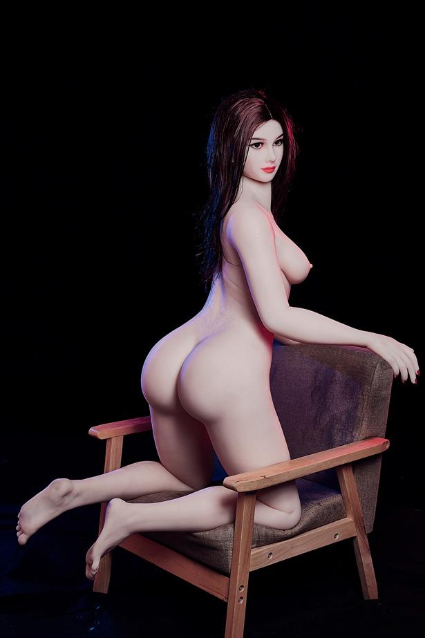 Schwarze Augen Real Doll Meret
