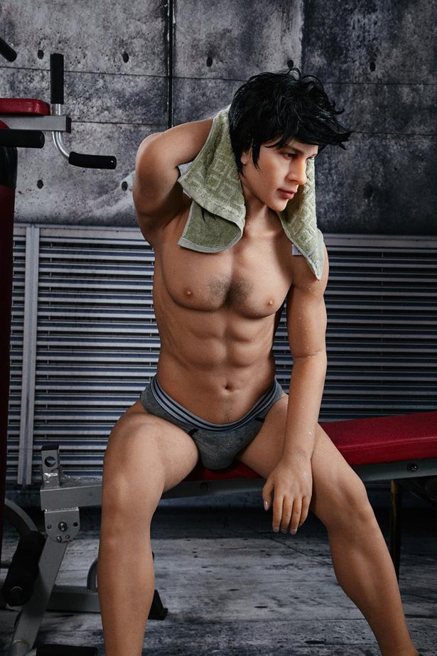 Muskulöse männliche Real Doll Abdallah