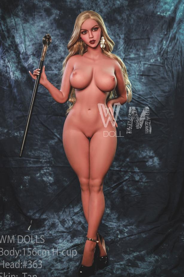 156cm blonde Real Doll Priska