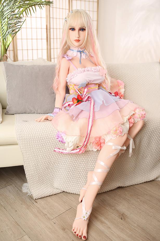 Lebensechte Silikon Love Doll