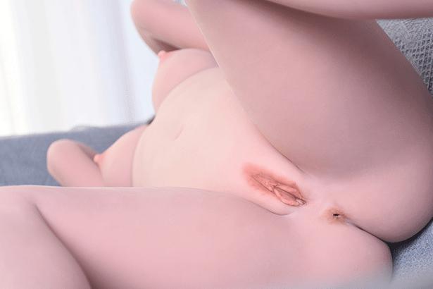 Schwarze Haar Sexpuppe Adele