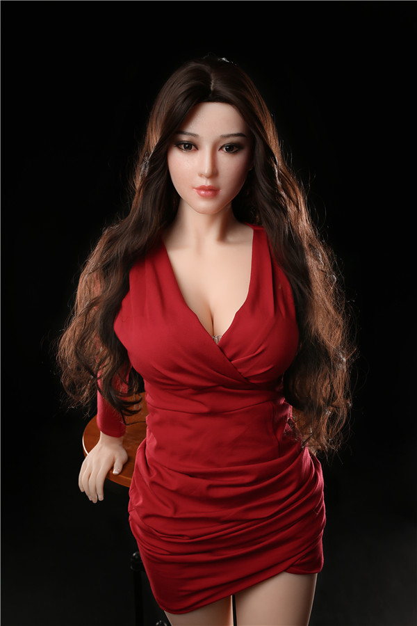 Rotes Kleid Shirin