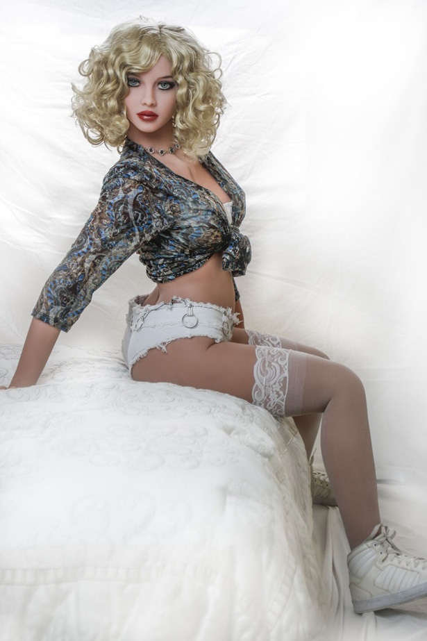 Blondes lockiges Haar ASDOLL Ida