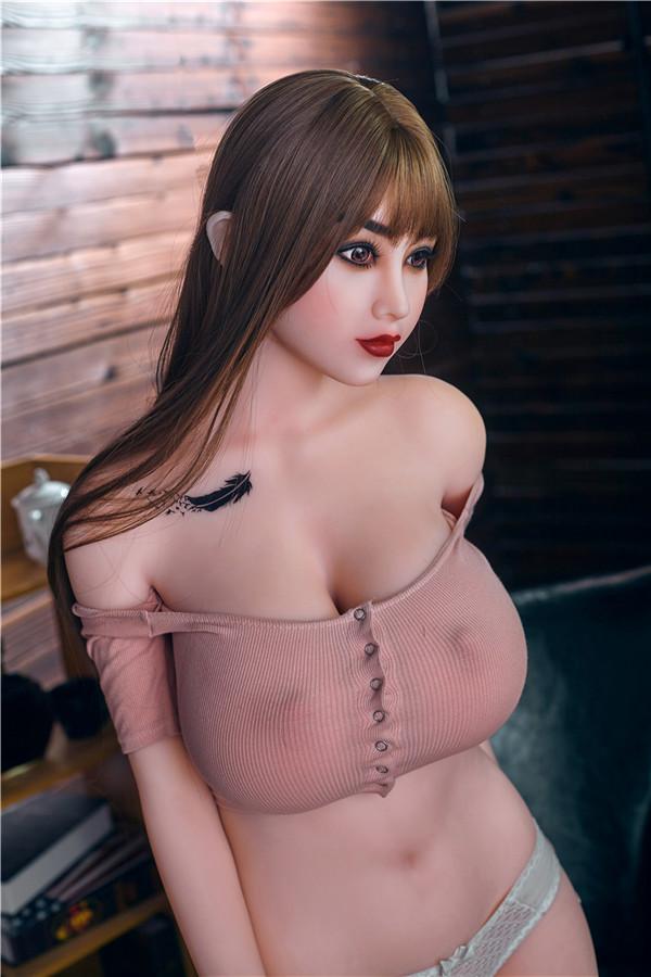 Belinda-163cm Sexpuppe mit bezaubernden Brustwarzen
