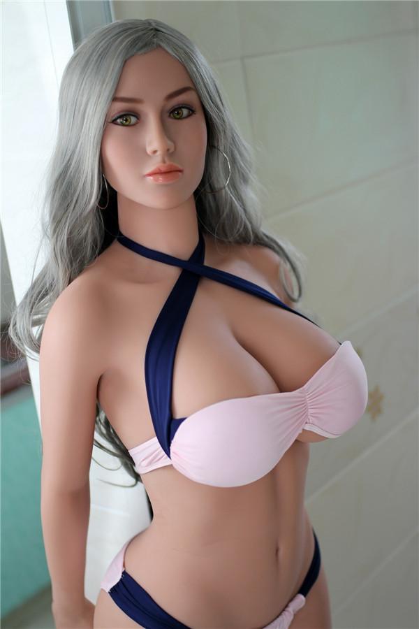 Grauhaarige Sexpuppe Hilda