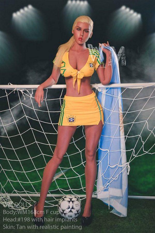 Fußball Baby Sex Puppe Magdalen