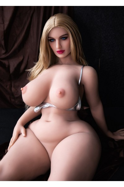 Realistische Liebespuppe  Großer Arsch 164cm