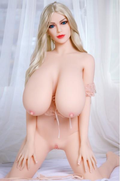 Linja-Günstige Riesent Brüste Sexpuppe