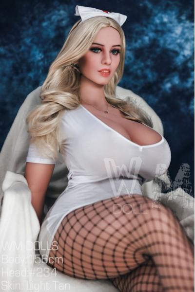 Maggie-Wilde  Großen Brüsten WM Doll