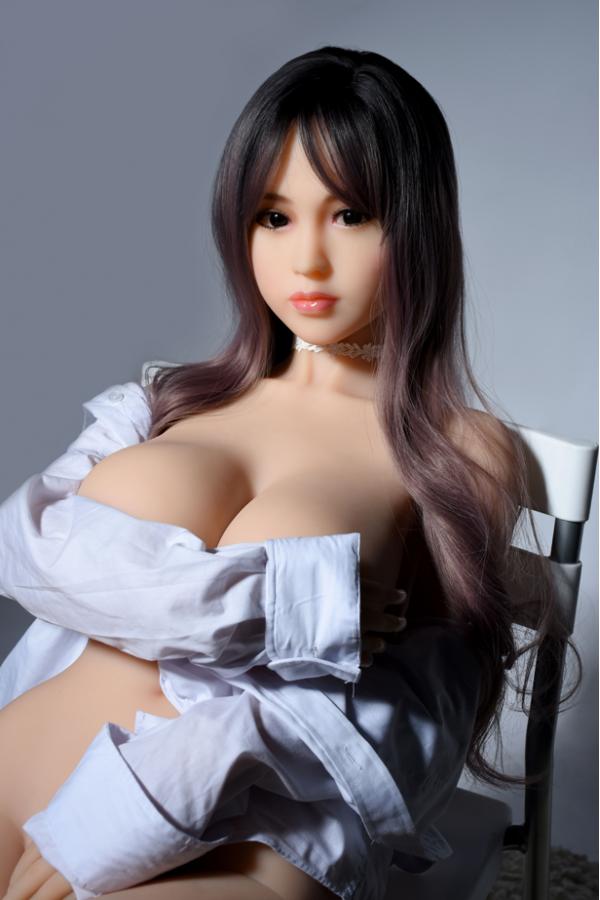 Zoe- Schöne lange Haare realistische 155cm Sexpuppe zu verkaufen
