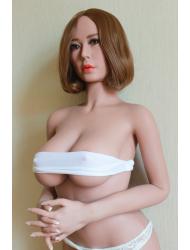 Ines-Sexy mittlere Brüste kurzes Haar echte Liebespuppe