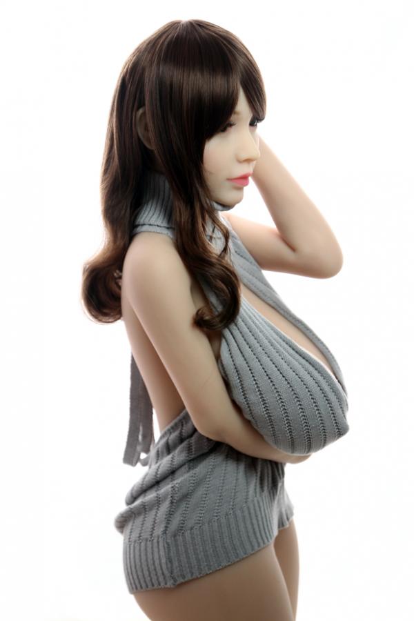 Pauline-Saftige riesige Titten Japanische Liebespuppe