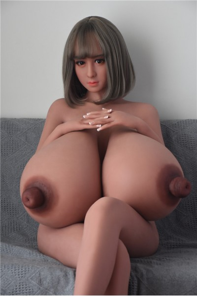 Dahlie-160CM Grauhaarige vollbusige Sex Real Doll