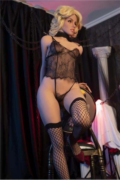 Annabel-Sexy Sex Doll schwarzer Spitze