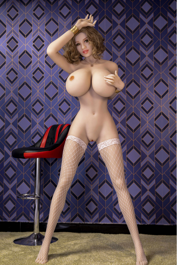 Kayla-Charmante sexy Kurzhaar-Liebespuppe