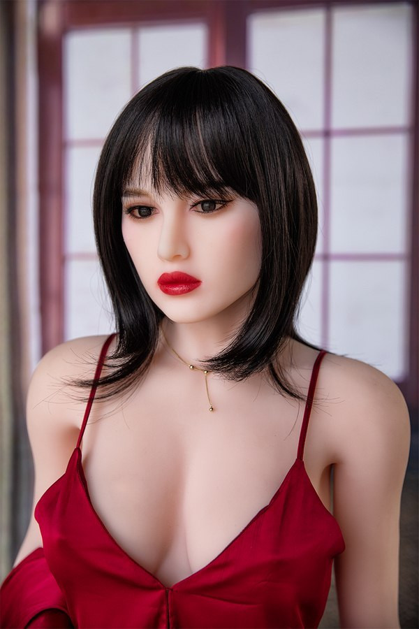 174cm Sexpuppe Lange Haare und große Brüste
