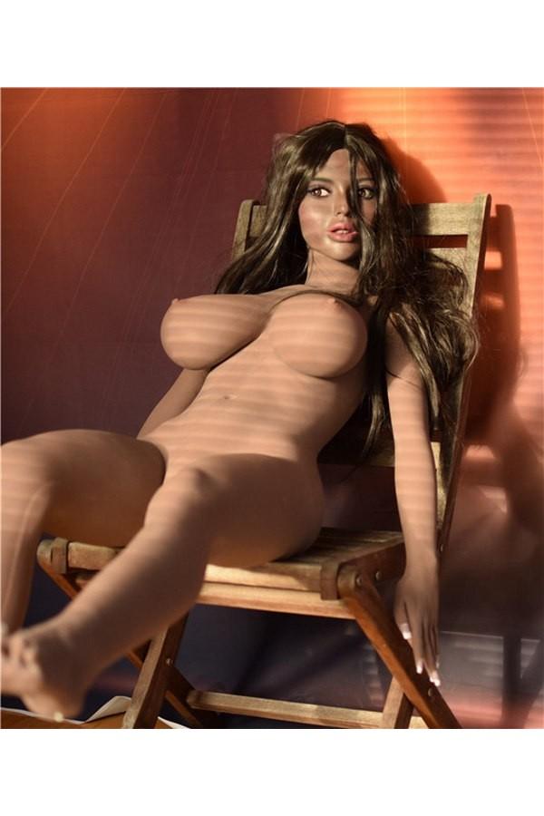 Afrikanisch-Deutsch Sex Doll Dunkle Haut | 42-Julia
