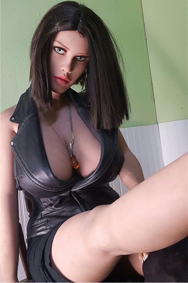160cm Lebensechte Sexpuppe H-cup Große Brüste | 42-Jasmine