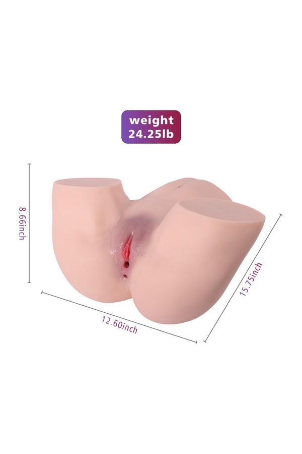10.09kg  Sexy großer Arsch Torso Liebespuppe