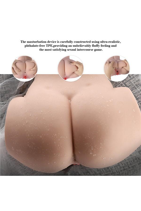7.89kg  Sexy großer Arsch Torso Sexpuppe