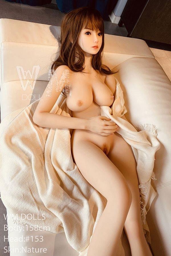 WM Doll 158cm dünne Sexpuppe D Cup Große Brüste