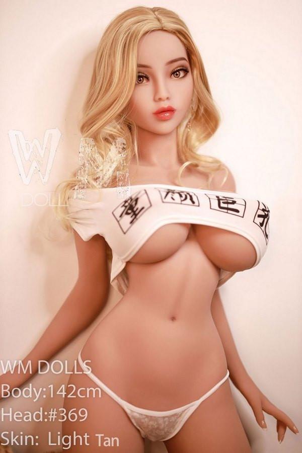 WM Doll 142cm dünne Sexpuppe K Cup Große Brüste