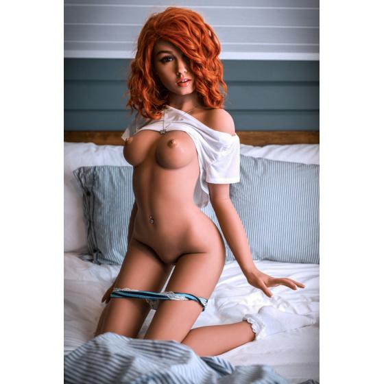 Karen-Billigen hochwertigen Rote Haare 157cm Sexpuppe Kundenbewertungen