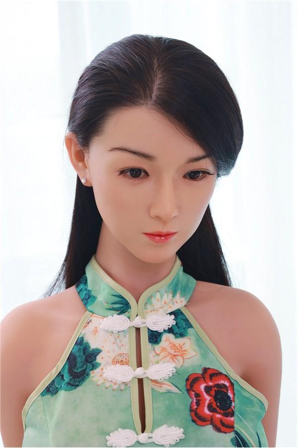 Cleopatra-157cm Realistische E-Cup Chinesische Liebespuppen