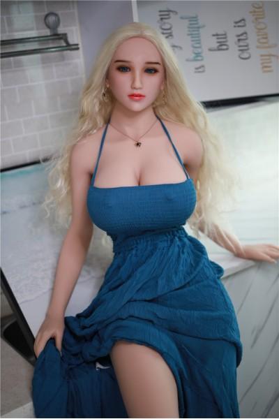 Dixie-170cm beste vollbusige Liebespuppen