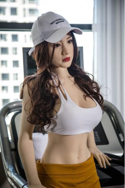 Swantje-Sportliche Weibliche 170cm Sex Doll mit Großen Brüsten