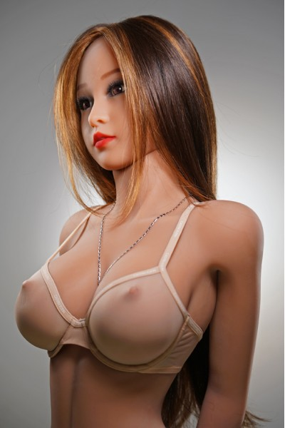 Sabine-Braunes Haar Sexy Körper Lovedoll