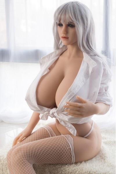 Jacqueline-Riesigen Brüste Silikonpuppe