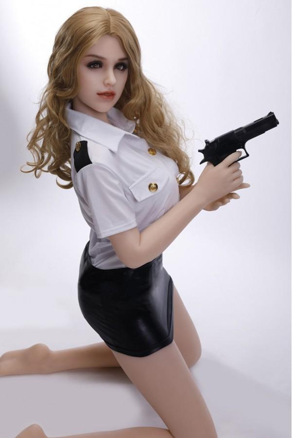 Gloria-Realistische Polizistin Silikonpuppe
