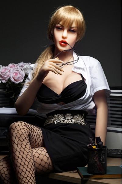 Regina-Blonde Schönheit Sex Doll