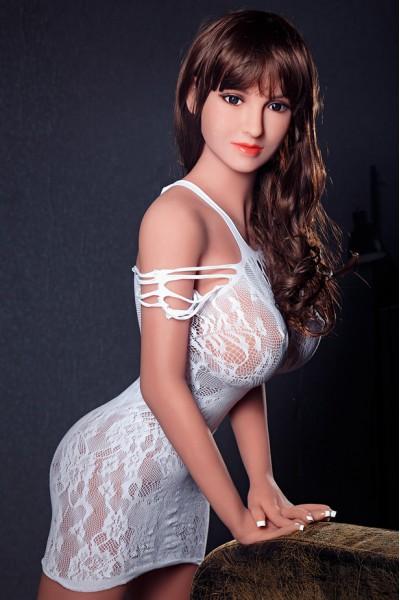 Caroline-Dünne Taille TPE Puppe Mit Großen Brüsten