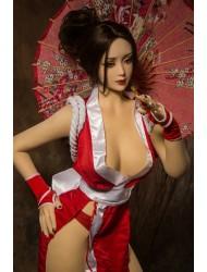 Nina-Beliebteste Japanische Anime-Sexpuppe