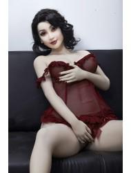 Karla-160cm Asiatische Weißhäutige Frauen Liebespuppe