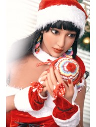 Liane-163cm Weihnachtskostüm Sexpuppe Haut Lebensecht