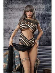Lupe-Pornostar 163cm Reife Frau Sex Puppe