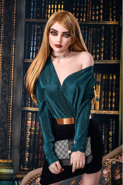 Magdalena-165cm Lebensechtes Angel Sexpuppe mit Metallskelett