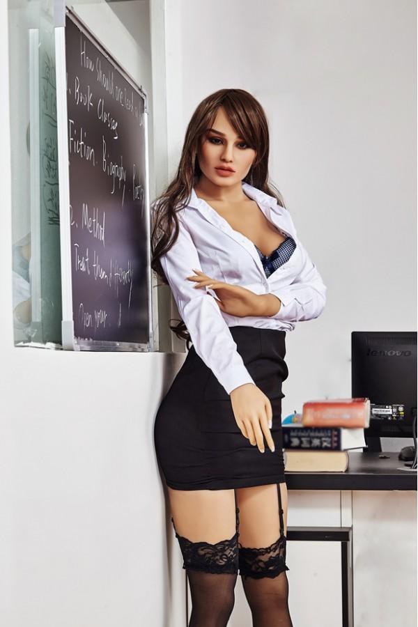 Melina-168cm Junge Frau Sekretärin Sexpuppe