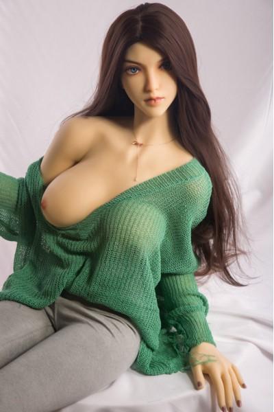 Nadia-158cm Mischlinge Schönheit Love Doll