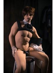 Adriano-18cm Penis 175cm Männliche Love Doll