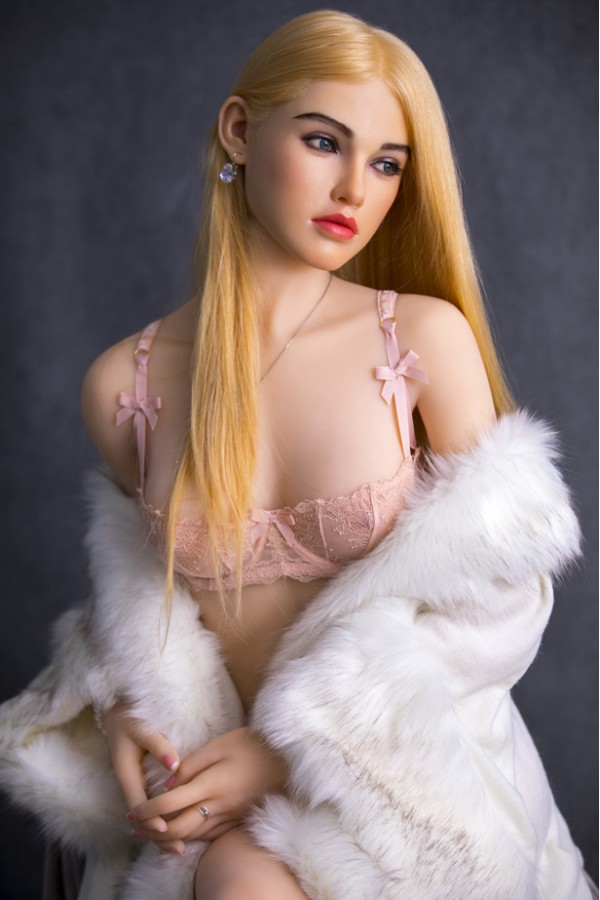 Shannon-Neueste Blonde High-End TPE Sexpuppe