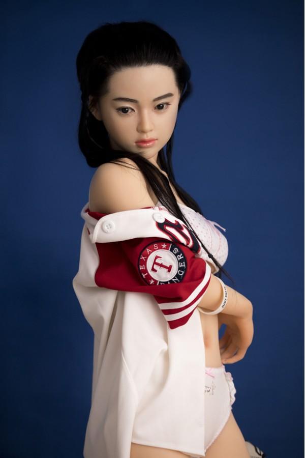 Sigita-Erotische Tänzerin Mädchen Silikon Erwachsenen Sex Puppe 150cm