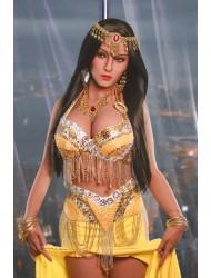 Pamela-Vollbusige Indische langhaarige Schönheit Sexpuppe